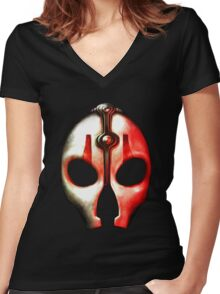Darth Nihilus Women's Fitted V-Neck T-Shirt