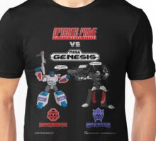 Transformers: Console Wars - OptiSNES vs. MegaGen! TEXT Unisex T-Shirt