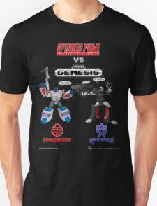 Transformers: Console Wars - OptiSNES vs. MegaGen! TEXT T-Shirt