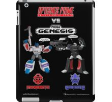 Transformers: Console Wars - OptiSNES vs. MegaGen! TEXT iPad Case/Skin