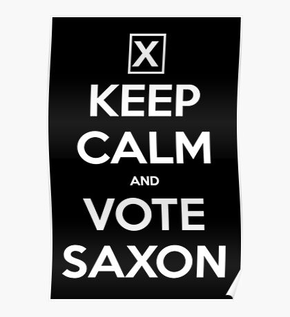 Vote Saxon  Poster