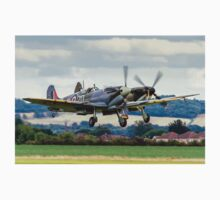 Two Spitfires taking off at Duxford T-Shirt