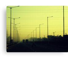 Highway Traffic Canvas Print
