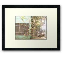 Like precious patina  Framed Print