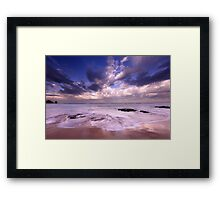 Cape Woolamai Beach, Philip Island, Australia Framed Print