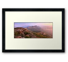Redmans Bluff from Mt William, Grampians, Australia Framed Print