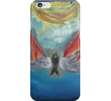 icarus-in-fire iPhone Case/Skin