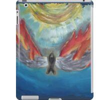 icarus-in-fire iPad Case/Skin