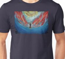 icarus-in-fire Unisex T-Shirt