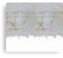 Painting on Raw Concrete Canvas Print