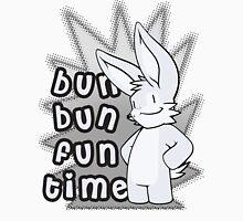 Bun Bun Fun Time! Monochrome Unisex T-Shirt