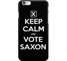 Vote Saxon  iPhone Case/Skin