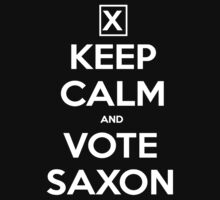 Vote Saxon  by ToneCartoons