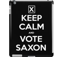 Vote Saxon  iPad Case/Skin