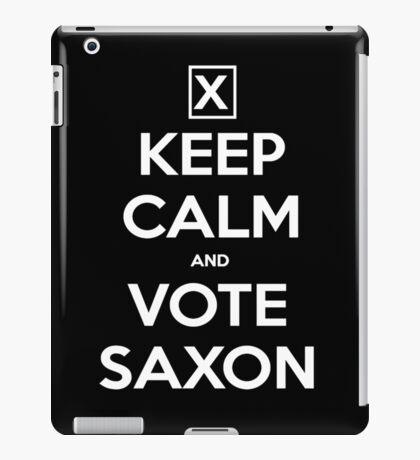 Vote Saxon  iPad Case/Skin