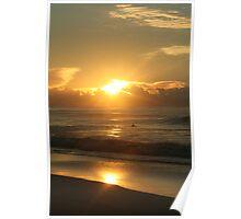 Garie Beach Gold Poster