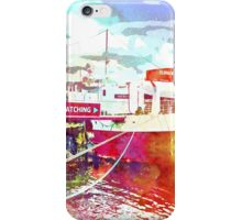 Reykjavik old harbor iPhone Case/Skin