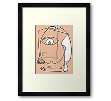 After Picasso - Nueve Framed Print