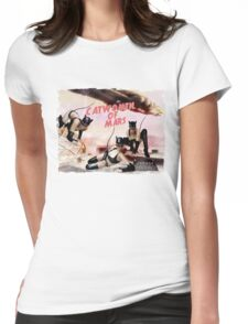 Catwomen of Mars  Womens Fitted T-Shirt