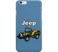 It's a Jeep Thing! iPhone Case/Skin