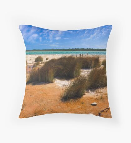 Lake Clifton Throw Pillow