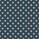Full Moon Polka Dot by Paula Belle Flores