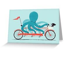 My Red Bike Greeting Card