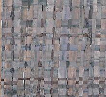 Woven Fields 09 by T J Bateson