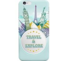 Travel & Explore iPhone Case/Skin