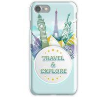 Travel & Explore iPhone Case/Skin