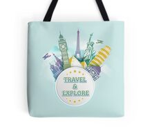 Travel & Explore Tote Bag