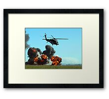 Australian Army Blackhawk Helicopter - Avalon, 2011 Framed Print