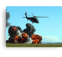Australian Army Blackhawk Helicopter - Avalon, 2011 Canvas Print