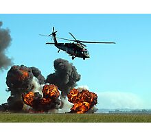 Australian Army Blackhawk Helicopter - Avalon, 2011 Photographic Print