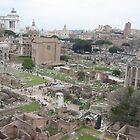 Il Foro Romano, Italia by Kymbo