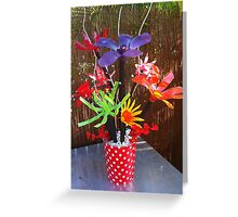 Recycled Bouquet Greeting Card