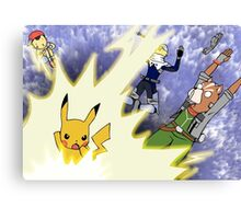 Pika Smash! Canvas Print