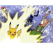 Pika Smash! Photographic Print