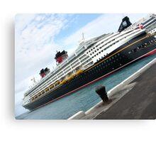 Disney Boat Canvas Print