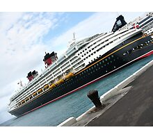 Disney Boat Photographic Print