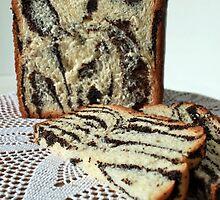 Striped cake slices by mrivserg