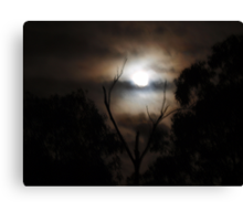 Easter Moon Canvas Print