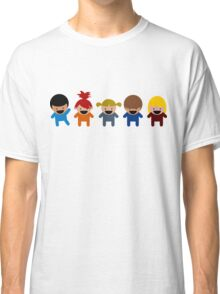 Cartoon Kid Characters Classic T-Shirt