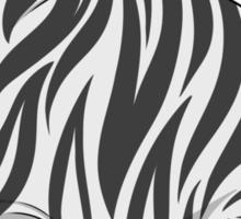 fat zebra Sticker