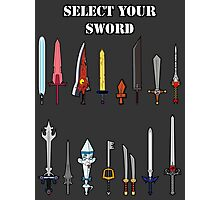 Select Your Sword Photographic Print