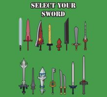 Select Your Sword One Piece - Short Sleeve