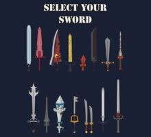 Select Your Sword Kids Tee