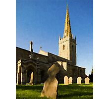 Lincolnshire Village Church Photographic Print