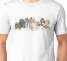 American Cocker Spaniel Puppies Unisex T-Shirt
