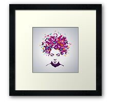 Women butterflies Framed Print